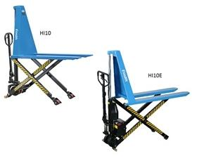 MANUAL AND ELECTRIC SCISSOR LIFT PALLET TRUCK